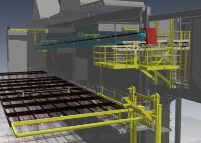 Konstrukce a příprava technologického souboru dopravy e-sádrovce. (Koncový uživatel - Xella CZ s.r.o.) Realizace - 2012