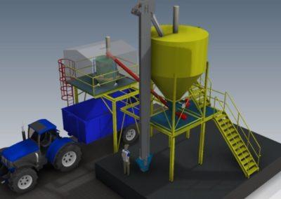 Studie agrotechnického zařízení. 2012